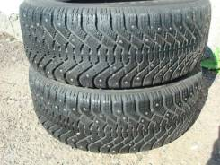 Dunlop SP Ice Response. Зимние, шипованные, износ: 30%, 2 шт