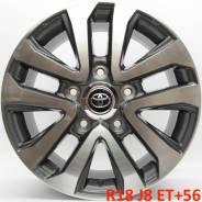 Toyota Land Cruiser. 8.0x18, 5x150.00, ET56, ЦО 110,1мм.