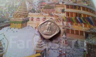 Индия. 5 пайс 1959 года. Необычная форма монетки!
