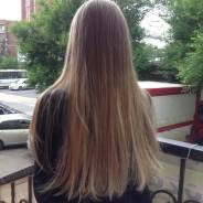 Окрашивание волос.