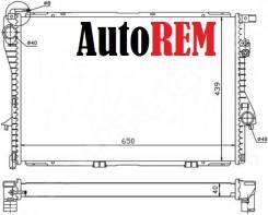 Радиатор охлаждения двигателя. BMW 5-Series, E39