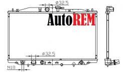 Радиатор охлаждения двигателя. Honda Accord, CL7, CL9, CL8, CL3, CL2, CL1