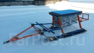 """Сани снегоходные """"Ванек-Рыбак"""" размер:1350*600*490мм в Новосибирске"""