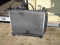 Радиатор охлаждения двигателя. Toyota Porte, NNP15 Двигатель 1NZFE