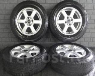 Литые диски Gyro R14 с зимними шинами 175/70R14 84Q Bridgestone VRX. 5.5x14 4x100.00 ET40 ЦО 73,0мм.