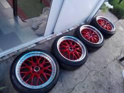 Продам колеса трехсоставные Zauber r18 с резиной Dunlop Le Mans LM703. x18