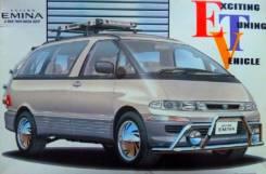 Сборная модель 1/24 Toyota Estima