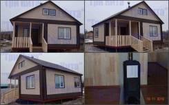 Строительство из сэндвич панелей и каркасно-щитовых домов