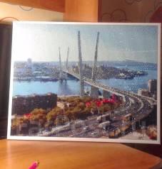 Картина алмазная живопись (готовая) во Владивостоке