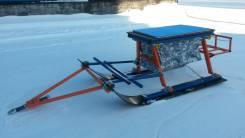 """Сани снегоходные """"Ванек-Рыбак"""" размер:1650*600*490мм в Новосибирске"""