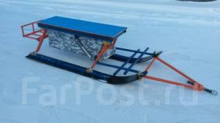 """Сани снегоходные """"Ванек-Рыбак"""" размер:1650*600*450мм в Новосибирске"""