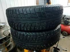 Michelin Latitude X-Ice North. Зимние, шипованные, износ: 30%, 2 шт