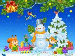 Видеосъёмка Новогоднего Утренника в детском саду.