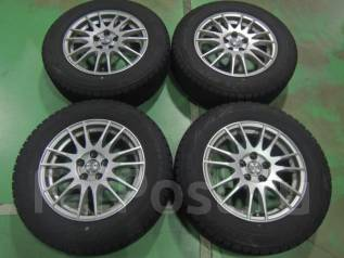 Комплект литых дисков R15 с зимними шинами 195/65R15 Bridgestone GZ. 6.0x15 5x100.00 ET45