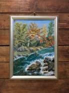 Картина маслом ''Приморский край, Приток Арму''
