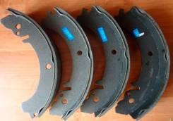 Колодка тормозная. Mazda Ford Festiva Mini Wagon, DW5WF, DW3WF Mazda Ford Festiva, D25PF, D23PF Mazda Revue, DB5PA, DB3PA Mazda Demio, DW3W, DW5W