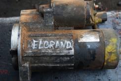 Стартер. Nissan: Caravan Elgrand, Terrano, Homy Elgrand, Ambulance, Elgrand, Terrano Regulus, Note Двигатель VG33E