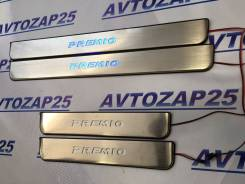 Накладка на порог. Toyota Premio