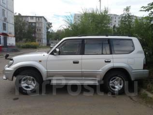 Toyota Land Cruiser Prado. автомат, 4wd, 2.7 (150 л.с.), бензин, 199 тыс. км