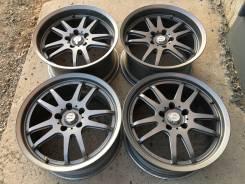 Dunlop. 8.5/9.5x17, 5x114.30, ET43/38