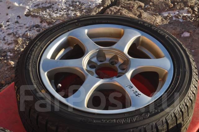 Bridgestone. 6.0x15, 4x100.00, 4x114.30, ET40