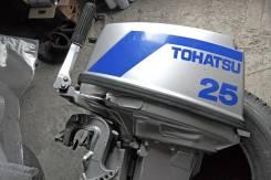 Tohatsu. 25,00л.с., 2х тактный, бензин, нога L (508 мм), Год: 1992 год