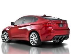 Накладка на бампер. BMW X6, E71