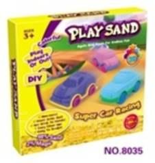 Кинетический песок. Под заказ