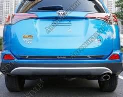 Накладка на дверь багажника. Toyota RAV4