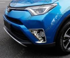 Накладка на фару. Toyota RAV4, XA40