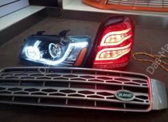 Комплект фар и фонарей (тюнинг) Toyota Kluger XU20 2000-2007 год. Toyota Kluger V, MCU20W, ACU20, ACU20W, MHU28, MCU25W, MCU25, MCU20, MHU28W, ACU25...