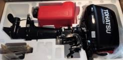 Tohatsu. 5,00л.с., 4х тактный, бензин, нога S (381 мм), Год: 2016 год