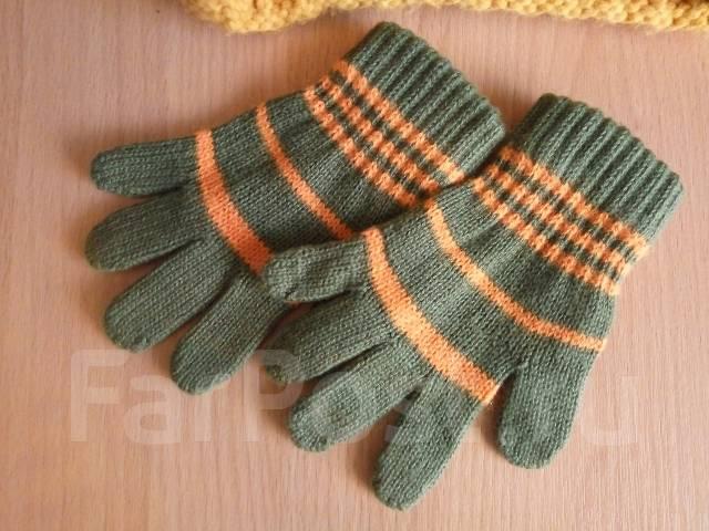 Шапка и перчатки. Рост: 86-98, 98-104 см