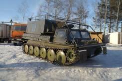 ГАЗ 71. Вездеход ГТСМ (ГАЗ-71), 4 600 куб. см., 2 000 кг., 4 900,00кг.