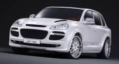Обвес кузова аэродинамический. Porsche Cayenne, 957