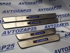 Порог пластиковый. Toyota Camry, ASV50, AVV50, GSV50