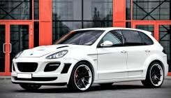 Обвес кузова аэродинамический. Porsche Cayenne, 958