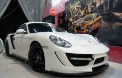 Обвес кузова аэродинамический. Porsche Cayman. Под заказ