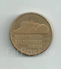 Нидерланды 5 гульденов 1988 год (иностранные монеты)