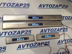 Накладка на подножку. Toyota Vitz