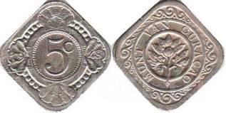 Нидерланды 5 центов 1913 год
