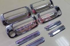 Накладка на ручки дверей. Toyota Land Cruiser, FJ80G, FZJ80G, FZJ80J, HDJ81, HDJ81V, HZJ81V