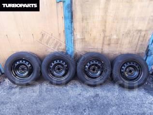 Штамповка R15 5*114 + Резина Dunlop ''16 [Turboparts]. 6.0x15 4x100.00