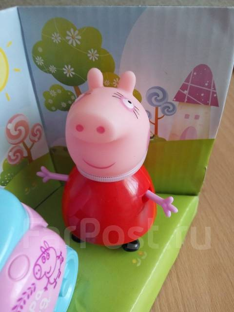 Набор из серии Свинка Пеппа! Джордж с мамой! С рубля!