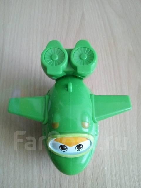 Самолетик Мира! Супер крылья! Трансформер! С рубля!