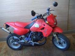 Kawasaki KSR50. 50 куб. см., исправен, без птс, без пробега
