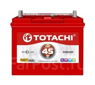 Totachi. 45 А.ч., правое крепление, производство Корея. Под заказ