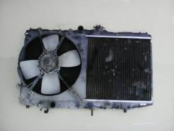 Радиатор охлаждения двигателя. Toyota Corolla Levin, AE92 Двигатель 4AGE