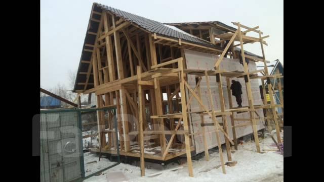Каркасное строительство , дома , бани , коттеджи , строим под ключ .