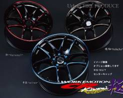Work Emotion CR Kiwami. 7.5x18, 5x100.00, ET47
